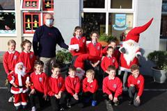 Mike Swan of the RNLI visits Cregmore