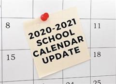 School Calendar Update