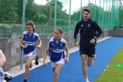 Olympian Cilín Greene visits Cregmore National School!