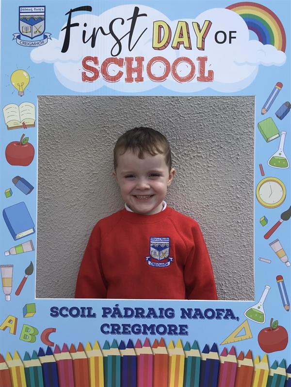 We Welcome Our New Junior Infants to Scoil Pádraig Naofa