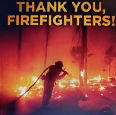 Thank You, Firefighters!