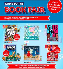 Scholastic Book Fair is coming!!!