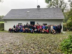 5th and 6th Class visit Knockma and Castlehackett